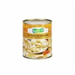 Canned Button Mushroom China, Packaging Size: 850 gm, Packaging Type: Tin Can