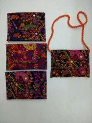 Embroidery ladies regular purse