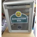 Aluminum Suggestion Box