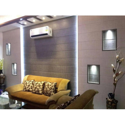 Film Coated Designer Pvc Wall Panel Shape Rectangle For Residential Rs 15 Feet Id 14706100955