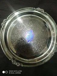 Brass Dinner Plate