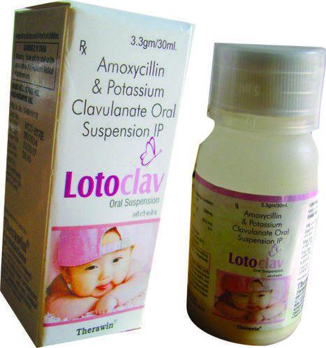 Amoxicillin Potassium Clavulanate Oral Suspension Ip Therawin