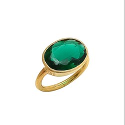Emerald Hydro Ring