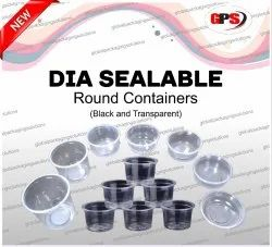 Thermoformed Dia Sealable Food Containers