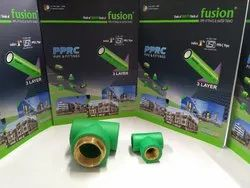 PPR Fittings - Tee Green