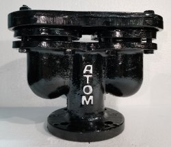 Atom Brand C.I. Air Valve Double Acting Flanged