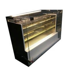 Stainless Steel Sweets Display Counter