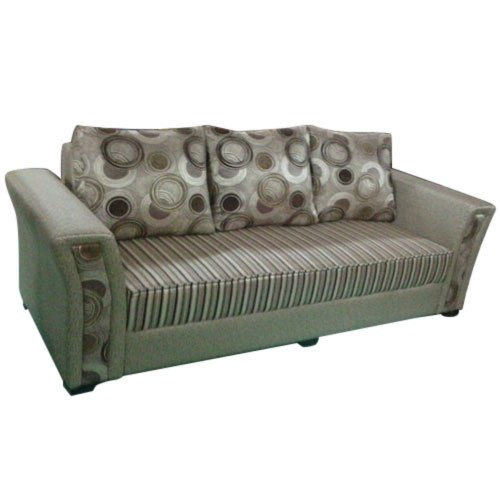 Printed Three Seater Sofa