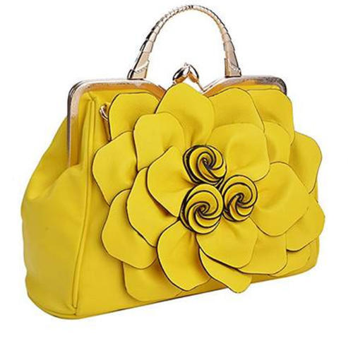 ad709303fd8 Ladies Yellow Handbags