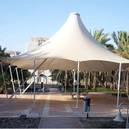 Tensile Membrane Roofing Structure टेंसिल मेम्ब्रेन