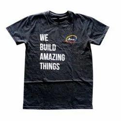 Printed Boys Half Sleeve T Shirt, Packaging Type: Plastic Bag