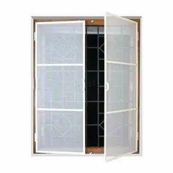 Aluminium Foldable Window Mosquito Screen, Packaging Type: Roll