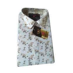 Victoria Classic Party Wear Mens Printed Shirt