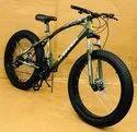 Ferrari Green Fat Tyre Cycle