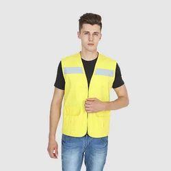 UB-VEST-YEL-HV-0006 Vest Jackets
