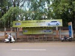 7-30 Days Bus Shelter Advertising Service, Mode Of Advertisement: Offline