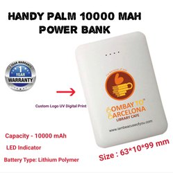 Palm Size 10000 mAh Power Bank
