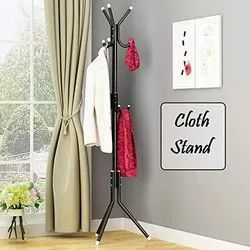 Metal Cloth Rain Coat Stand Hanger Home