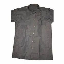 Puff Cotton School Uniform Shirt, Size: S-XXL