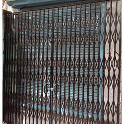 Iron Collapsible Gate