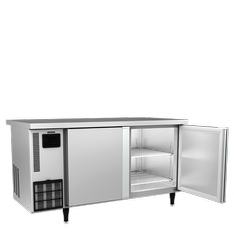 double door Bottom Freezer Western Under Counter Chiller, Number Of Shelves: 3, Model Name/Number: Rtw 150