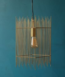 Iron Wire Pendent Lamp