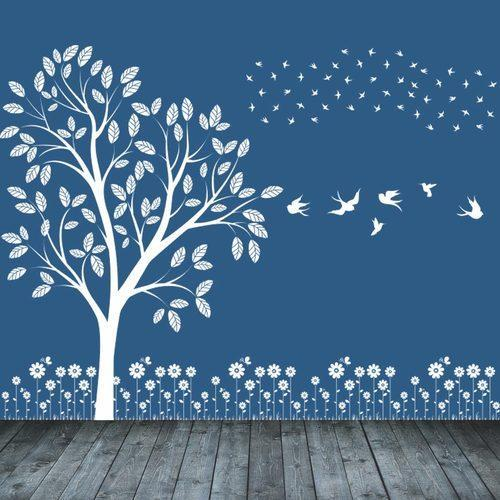 wall decal bedroom wallpaper at rs 90 /square feet | vastrapur