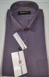 Collar Neck Bajson T.Tone Plain Shirt