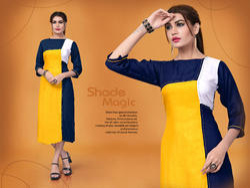 stylist designer rayon kurti