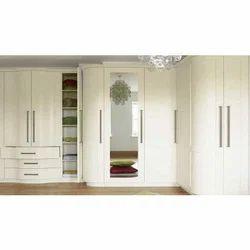 White PVC Wardrobe