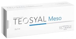 Teosyal Meso 15MG/ML of HA, 2 x 1ml
