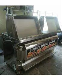 Grey Catering Fruit juice counter steel body