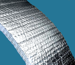 8mm Metalized Air Bubble Insulation Sheet