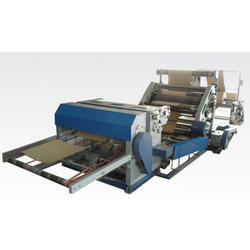 High Speed Oblique Type Single Face Paper Corrugation Machine