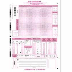 Barcode OMR Sheet
