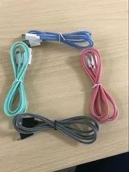 Multicolor Nylon Braided USB Data Cable