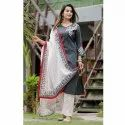 Ladies Kurti With Dupatta And Palazzo
