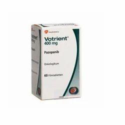 Glaxosmithkline Votrient 400mg, Usage: Hospital