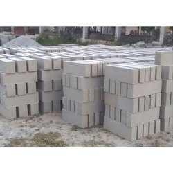 Grey Rectangular Lightweight Fly Ash Bricks