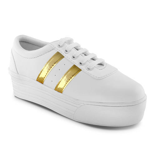f1962803f09ac Daily Wear White Fashion Women Casual Shoe