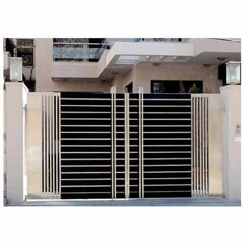 Main Gate Color Coated Ss Main Gate Manufacturer From New Delhi