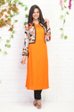 Long Straight Kurti With Jacket
