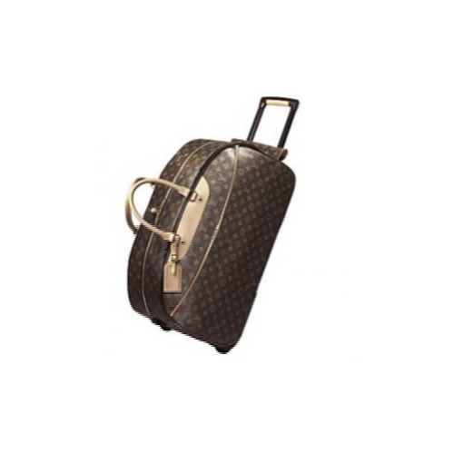 Printed Polyester Duffle Bag With Wheels a032d709d9434