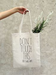 Natural Cotton Bags for Shopping