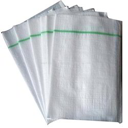 White PP Woven Bags