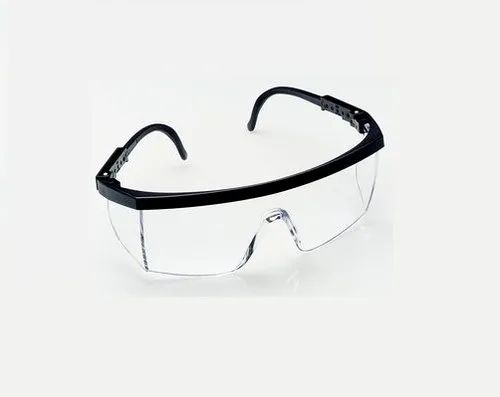 3M 1710 IN Clear Frame Clear Hard Coat Lens Goggle (White)