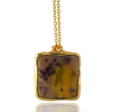 Mookaite Gemstone Pendants