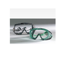 Allsafe 10115 Goggle, Standard, Green Body Clear Lens