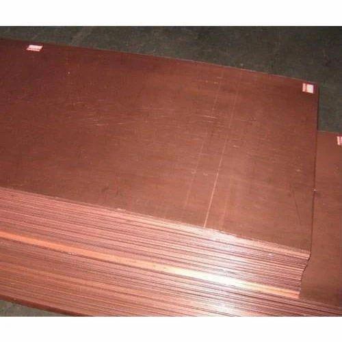 Kupfer-platte 8mm cu-dhp plate copper sheet plate
