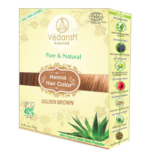 Golden Brown Henna Hair Color Hair Color Divya International